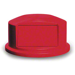 Rubbermaid® Dome For 2641, 2643 BRUTE® Round Cont. - Red