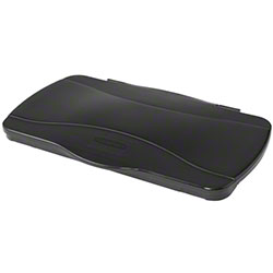 Rubbermaid® Slim Jim® Hinged Lid - Black