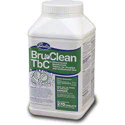 Brulin® Bru-Clean TbC Disinfectant Cleaner -270 Tablet Tub