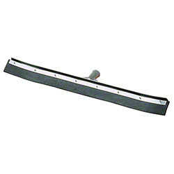 Carlisle Flo-Pac® Curved End Black Rubber Squeegee - 36""