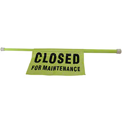 "Impact® ""Closed For Maintenance"" Safety Pole"