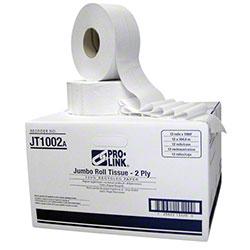 PRO-LINK® Jumbo Roll Toilet Tissue - 1000'