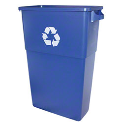 Impact® 23 Gal. Thin Bin™ Blue Recycle Container