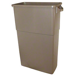 Impact® 23 Gal. Thin Bin™ Beige Container