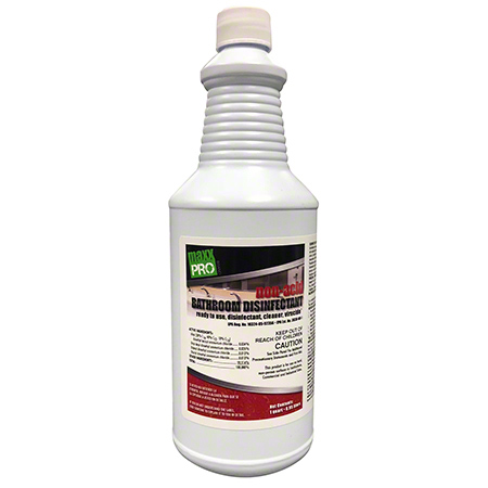 MaxxPro Non-Acid Bathroom Disinfectant - 32 oz.
