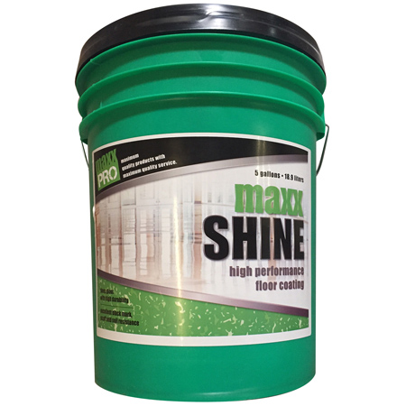 MaxxPro Maxx Shine 22 High Performance Floor Coating