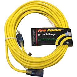 Extension Cord 100' 16/3 Yellow - 10WCD7214Y
