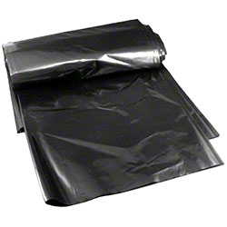 High Density Can Liner - 40 x 48, 16 mic, Black