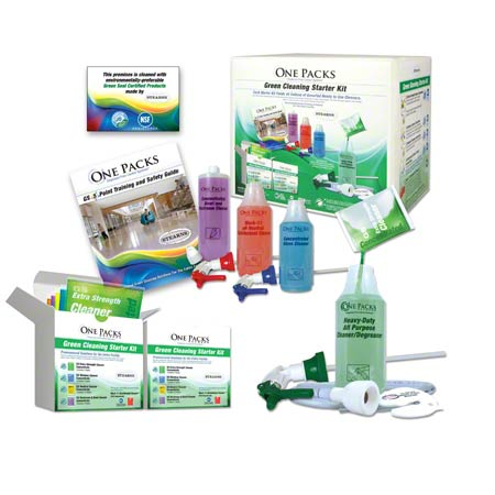 Stearns® ONE PACKS Green Cleaning Starter Kit