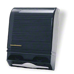 Von Drehle Folded Towel Dispenser - Black