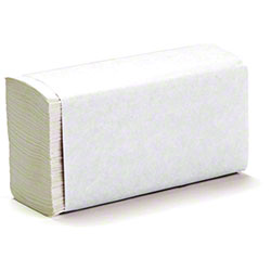"Von Drehle Base Line Multifold Towel - 9.25"" x 9.5"", White"