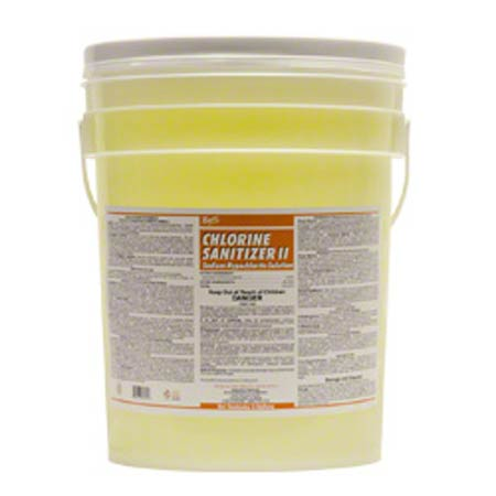 Nyco Chlorine Sanitizer II Sodium Hypochlorite Solution-5Gal