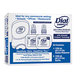Dial Complete® DUO Antimicrobial Foaming Hand Soap Kit