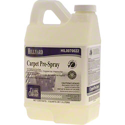 Hillyard Carpet Pre-Spray & Extraction - 1/2 Gal.