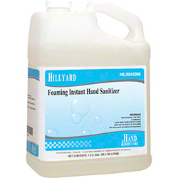 Hillyard Foaming Instant Hand Sanitizer - Gal.
