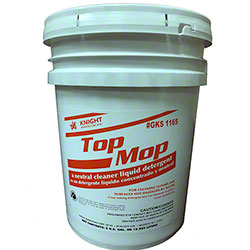 Knight Top Mop Neutral Cleaner - 5 Gal. Pail