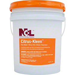 NCL® Citrus Kleen Non-Butyl Heavy Duty Degreaser - 5 Gal.