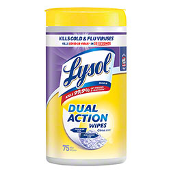 Lysol® Dual Action™ Disinfecting Wipe - 56 ct.