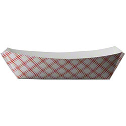 SQP Food Tray - #300 Red Plaid