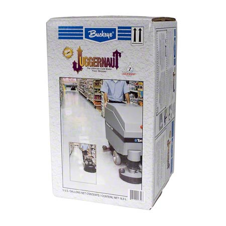 Buckeye® Juggernaut® Floor Finish Stripper - 5 Gal. Box
