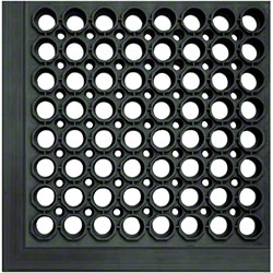 Crown Safewalk-Light™ General Purpose Mat -3'5', Black