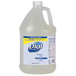 Dial® Sensitive Skin Antimicrobial Liquid Hand Soap - Gal.