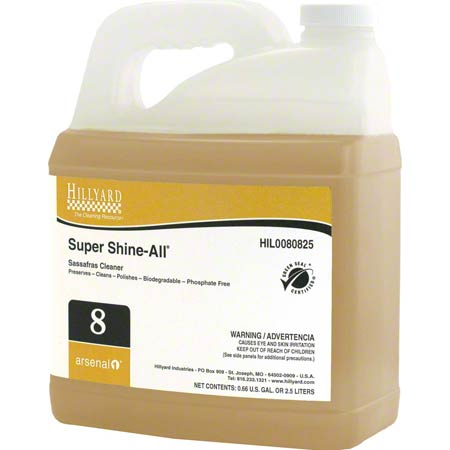 Hillyard Arsenal® 1 #8 Super Shine-All® Cleaner - 2.5 L