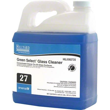 Hillyard Arsenal® 1 #27 Green Select® Glass Clnr. -2.5 L