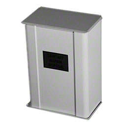 Kagan Wall Model Sanitary Napkin Disposal - White