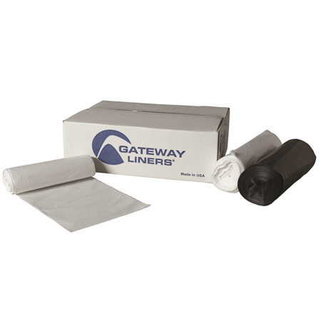 Gateway Liners® High Density - 33 x 40, 16 mic, Clear