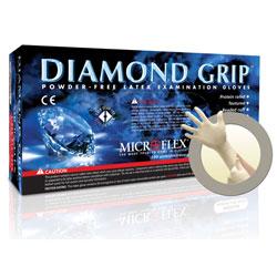 Microflex® Diamond Grip Latex Exam Glove - XL