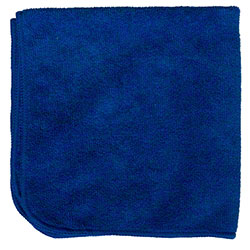 M-Fiber EZ Clean Microfiber Color Coded Cloth - Blue