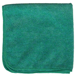 M-Fiber EZ Clean Microfiber Color Coded Cloth - Green