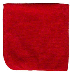 M-Fiber EZ Clean Microfiber Color Coded Cloth - Red