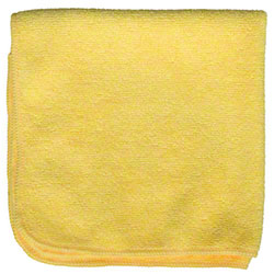 M-Fiber EZ Clean Microfiber Color Coded Cloth - Yellow