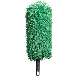 "M-Fiber EZ Clean Complete 12"" Save Fiber Duster w/Ext Handle"