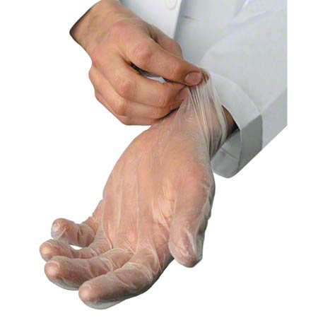 Powder Free Vinyl Disposable Glove - Large