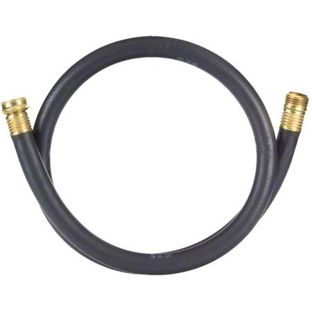 Tolco® Rubber Utility Hose w/Brass Fittings
