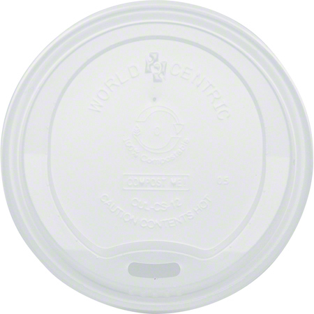 World Centric Paper Hot Cup Lid - For 10-20 oz.
