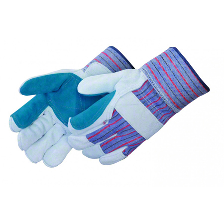 Liberty Standard Leather Jointed Double Palm Glove - Large