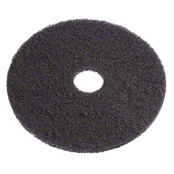 Americo Black Stripping Floor Pad - 17""