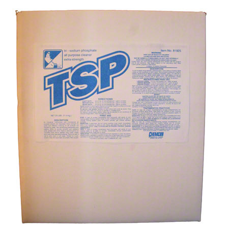 Chemcor TSP Trisodium Phosphate Cleaner/Degreaser-10 lb. Box