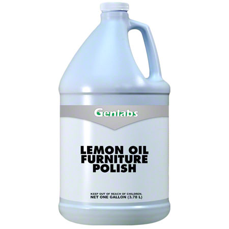 Genlabs Lemon Oil Furniture Polish - Gal.