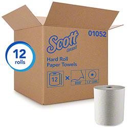 "Scott® Hard Roll Towel - 8"" x 400', White"