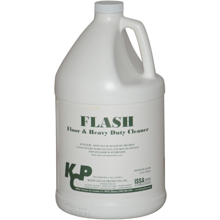 Keep Clean Flash Floor & Heavy Duty Cleaner - Gal.