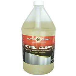 Ultra Clean Steel Clean Stainless Steel Cleaner - Gal.