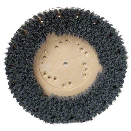 Malish Mal-Grit Lite® Red Grit Rotary Brush - 18""