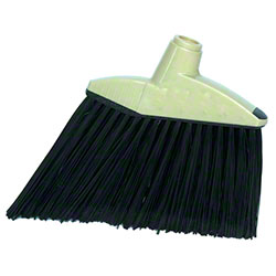 Magnolia Flagged Black Plastic Angle Broom