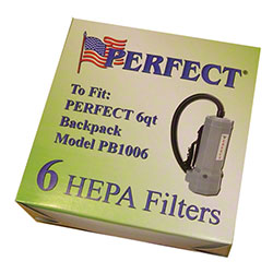 Perfect® Beyond Green HEPA Filter Bag For 6 Qt. Backpack