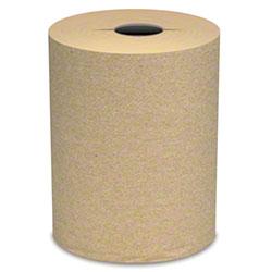 """Von Drehle Natural I-Cut Hardwound Roll Towel - 7.5"""" x 800'"""